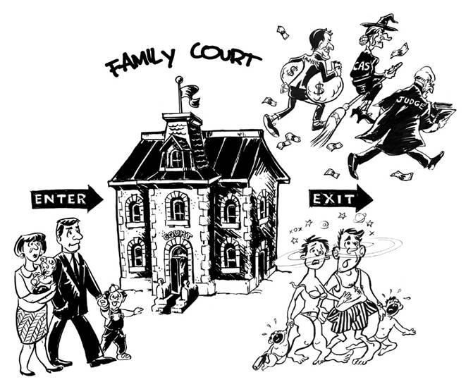 Connecticut s corrupt family courts